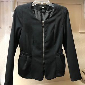 H&M blazer in black
