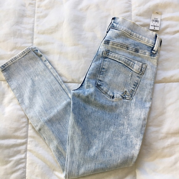 Express Denim - SALE❗️Express Acid Wash Distressed Skinny Jean