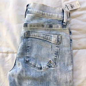 Express Jeans - SALE❗️Express Acid Wash Distressed Skinny Jean