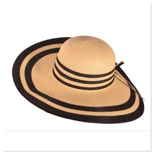 Two-tone Wide Brim Sun Hat