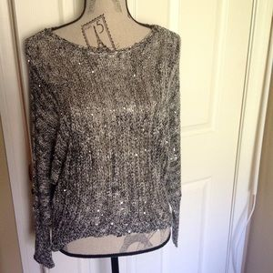 Gorgeous Knit & Sequin Light Weight Sweater
