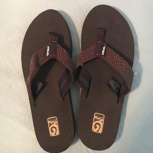 Teva Shoes - Teva Flip Flops--brand new, never worn!