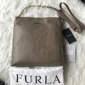Furla Handbags - NWT Furla Julia Chain small leather crossbody bag