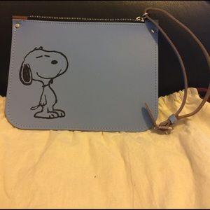 The Cambridge Satchel Company Handbags - Cambridge Satchel Peanuts Snoopy Zip Top Pouch