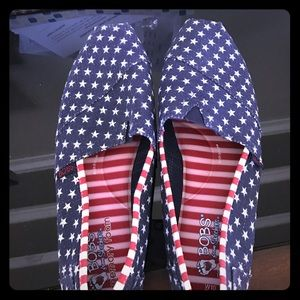 Bobs Shoes - Bobs by Skechers Red White Blue Adorable !!