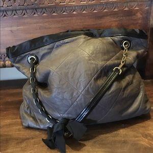 """LANVIN """"Amalia"""" quilted leather shoulder bag"""