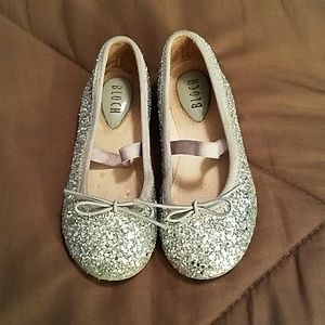 BLOCH  Other - Silver Sparkle, Bloch Todder Shoes