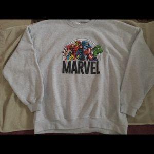 Marvel Tops - Women's Marvel Sweatshirt 2X
