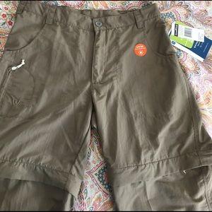 White Sierra Pants - 🏕White Sierra  zip off pants