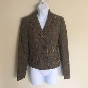 LOFT Jackets & Blazers - Ann Taylor LOFT Trendy Tweed Blazer Size 0