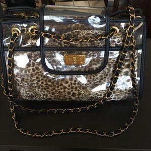 Handbags - Cute Large Transparent Flap Bag
