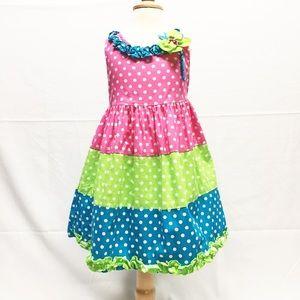 Rare Editions Other - Polka Dot Dress Sz 3T