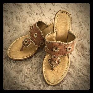 Jack Rogers Shoes - ⭐️⭐️Jack Rogers Marabella Cork Wedge Sandals-NWOB