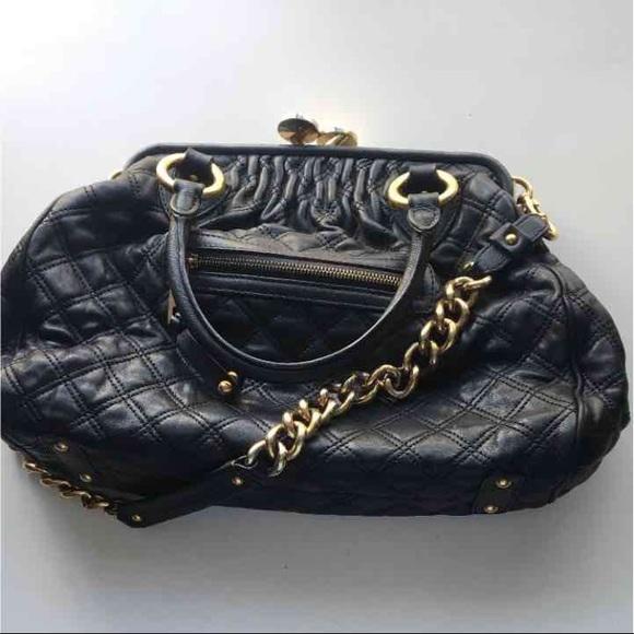 cbc334c388 Marc Jacobs Bags | Black Stam Bag Authentic | Poshmark