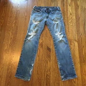 Ezekiel Other - Men's size 32W distressed EZEKIEL jeans