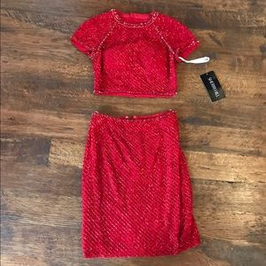 Sherri Hill Dresses & Skirts - Sherri Hill 32268 red 2 new w/tags