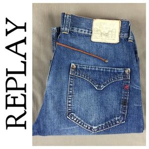 Replay Other - 💸Men's Replay lightweight denim Jean in size 34