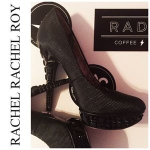 Rachel Roy Shoes - RACHEL Rachel Roy Black Platform Pumps Size 6.5