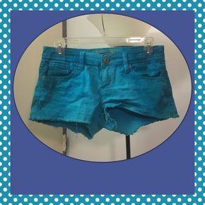 Freestyle Pants - Tie Dye Blue Shorts