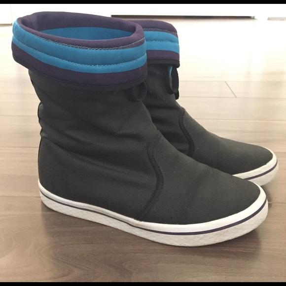 bcf1f6b863aa Adidas Shoes - Adidas honey rain boots in black 6.5
