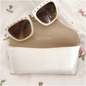 Valentino Accessories - White Valentino Sunglasses!!!
