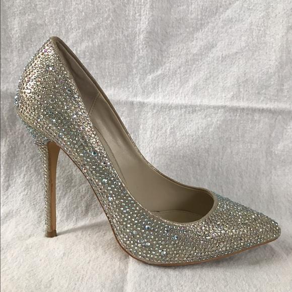 4564e11b4341 Steve Madden Shoes | Sparkly Heel Heels | Poshmark