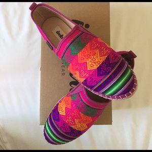 inkkas Shoes - Inkkas Cotton Candy Platform Espadrilles