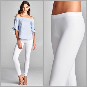 Threads & Trends Pants - Think Spring Faux Leather Leggings