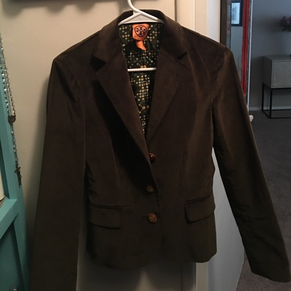 7e1d7f529 Tory Burch by Tre olive green blazer. M 58c081dffbf6f94c9f018380. Other  Jackets ...