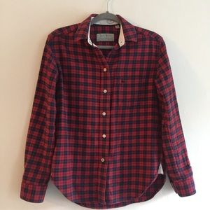 Jack Wills Tops - Jack Wills red plaid shirt