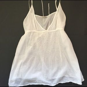 American Vintage Tops - American Vintage Thin White Cotton Camisole