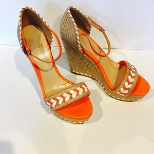 Gucci Shoes - Gucci wedge sandals