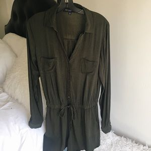 one clothing Pants - Military style Romper.