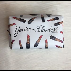 Other - Makeup Bag lipstick art bag