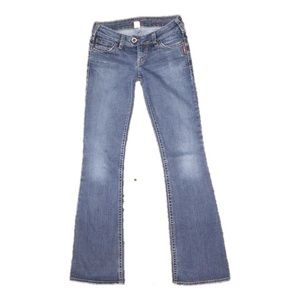 Women's Silver Jeans Tuesday Bootcut on Poshmark