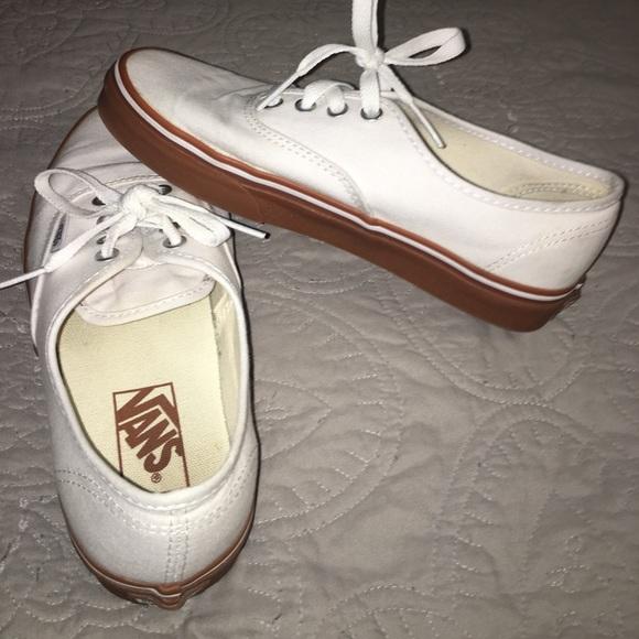 bcd7e1ca101e Vans Shoes - Vans - Pure White w  Gumsole