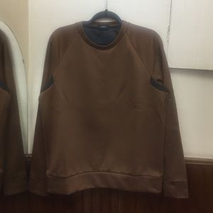 Theory Other - Theory men's brown/black sweater