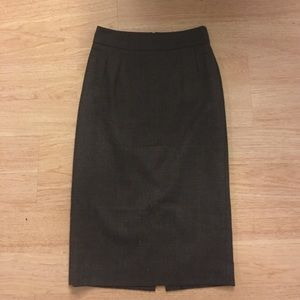 Banana republic pencil midi skirt