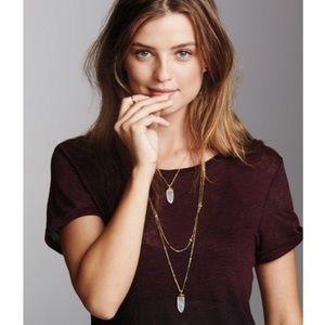 Stella & Dot Jewelry - Stella & Dot Aria gold pendant necklace