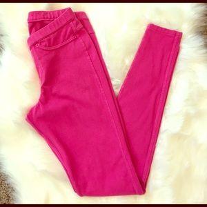 HUE Pants - HUE Hot Pink Leggings