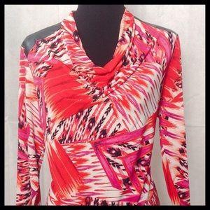 Susan Graver top blouse medium