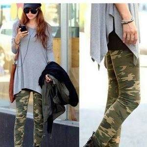 Pants - NEW Casual Camo Leggings - OS