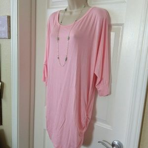 JOHNNY.   Pink Tunic. #NWOT