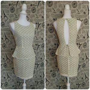 Ark & Co Dresses & Skirts - Ark & Co peplum dress