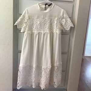 fashion union Dresses & Skirts - Lace appliqué dress