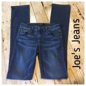 Joe's Jeans Denim - Joe's Jeans Slim Fit Mini Boot 25x 33.5 Andrea wsh