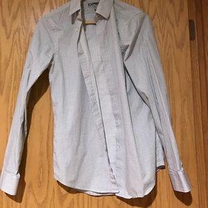 Express dress shirt size XS
