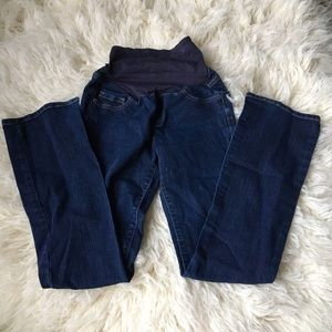 Old Navy Denim - Old navy over the belly maternity jeans 1
