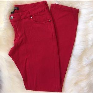 Love Culture Pants - Love Culture Red Leggings
