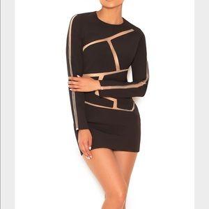 House of CB - Caribe black dress